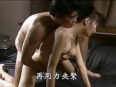 Zensierte Porno-Clips - Klassischer Porno mit großer Brust