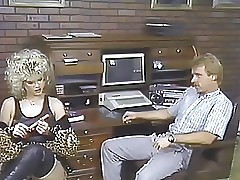 Amber Lynn hot videos - vintage retro sex